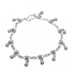 Elite Daily Wear Silver 925 Anklet-llc006