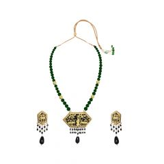 Attractive Design Thewa Necklace Set