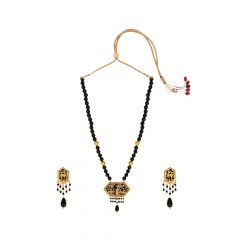 Elite Onyx Thewa Jewellery Necklace Set