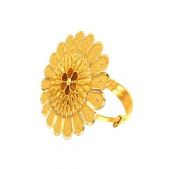 Grace Daily Wear Adjustable Gold Ring-URN998