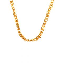 Gold Link Chain in 18kt Yellow ( 18 Inches)-JNJ031