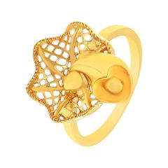 Fancy Cutout Gold Ring-JNJ048
