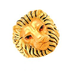 Eternal Lion Gold Ring-R_47264