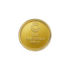 Lotus MMTC PAMP 2 Gms 999 Purity Gold Coin