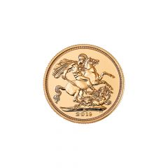 The Sovereign 7.98805 Gms 916.7 Purity Gold Coin
