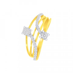 Contemporary Special Days Yellow Gold 18kt Rings-283-D2745
