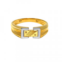 Elegant Tone Two Daily Wear Gold Ring-GR5642