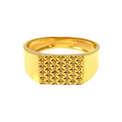 Ceremonial Daily Wear Gold Ring-GR7494