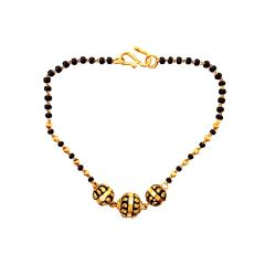 Fancy Daily Wear Gold Mangalsutra Bracelet-LBR9193