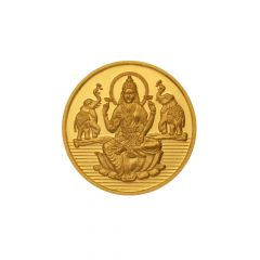 1 Grams 999 Purity Lord Lakshmi Gold Coin-GC101