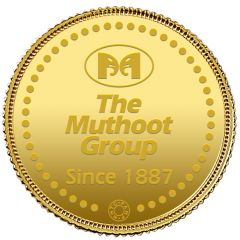 1 Grams 999 Purity The Muthoot Group Gold Coin-Muthoot1g