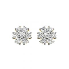 Timeless Diamond Stud Earring-EF1250-Y