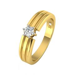 Elegant Single Solitaire Diamond Ring-RM1205