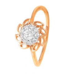 Marquice Design Pave Set Rose Gold Diamond Ring-70071104
