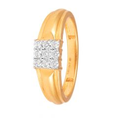 Prong Set Glosy Finish Diamond Ring-70155005