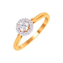 Elite Solitaire Framing Diamond Ring