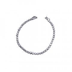 Delicate Contemporary Party Wear 925 Silver Bracelet -85-SBTEJ60