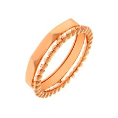 Unique Eternity Rose Gold Band