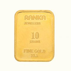 Embossed 10 Gms Gold Bar-BC4295