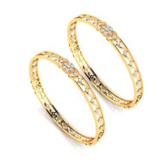 Dahlia Diamond Bangle - BG18