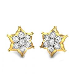 Nakshatra Miracle Plate Diamond Earrings