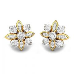 Spring Delight Miracle Plate Diamond Earrings