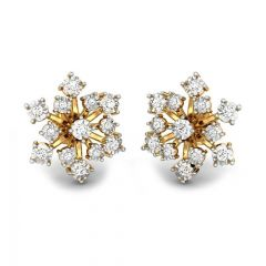 Sparkling Cluster Miracle Plate Diamond Earrings