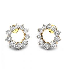 Designer Miracle Plate Daily Wear Diamond Earrings