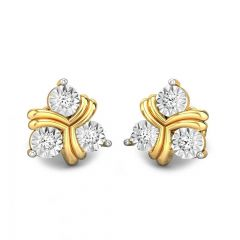 Dazzling Designer Miracle Plate Diamond Earrings
