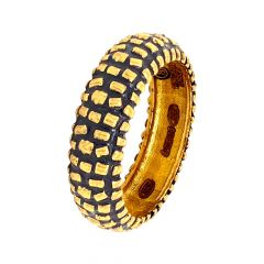 Treasure Antique Gold Band for Him