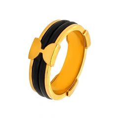Fancy Synthetic Fiber Gold Band