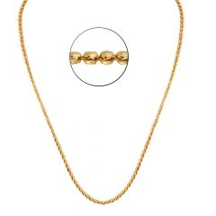 22kt Gold Heart Links Chain - CH-32