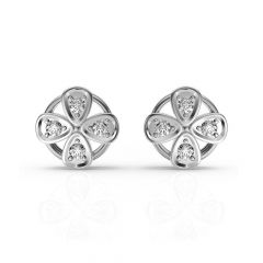 Blossom Floral Diamond Earrings
