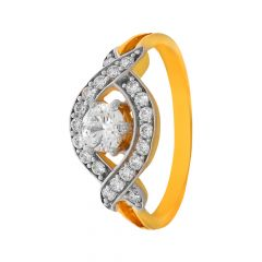 Dazzle Daily Wear CZ Diamond Ring