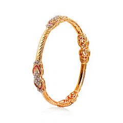 Ruby With Diamond Bangles - DB999