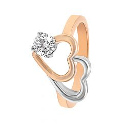 Elite Heart Diamond Ring