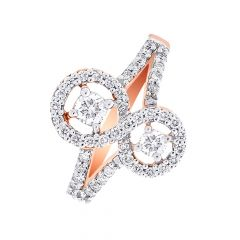 Sizzling Infinity Diamond Ring