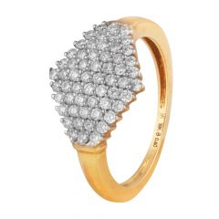 Micro Pave Set Diamond Ring - DRI33