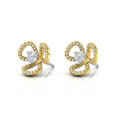 Sparkling Jacket Design Diamond Earrings