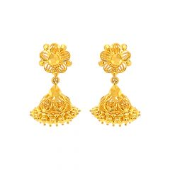Swarn Traditional Gold  Jhumka