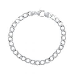 Linked Platinum Bracelet