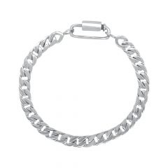 Stylish Platinum Bracelet