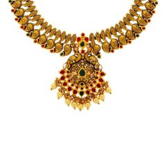Alluring Gold Necklace