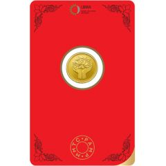 Lotus 2 Gms Fine 999 MMTC Gold Coin