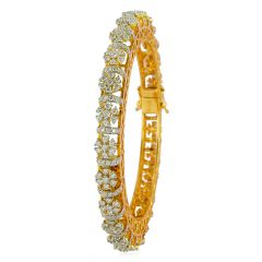 Pacheli Diamond Bangles - ic31150