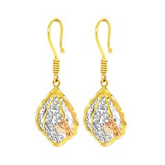 Elite Cutout Butterfly Gold Earrings