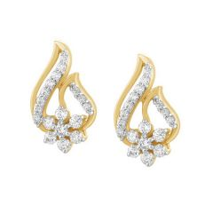 FIAM DIAMOND EARRINGS - JEF19400E