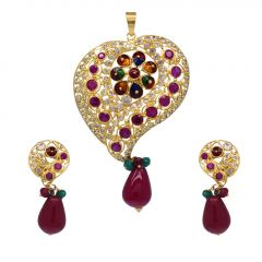 22kt Gold and Stone Setting  Set - JM223PO