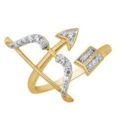 Bow Diamond Ring - JRA75530S