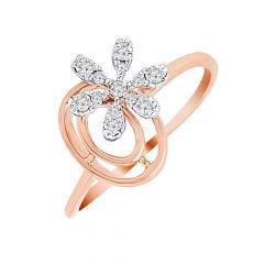 Blooming Floral Diamond Ring